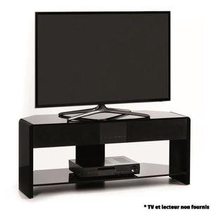 meuble tv hifi integre achat vente meuble tv hifi integre pas cher cdiscount. Black Bedroom Furniture Sets. Home Design Ideas