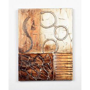 TABLEAU - TOILE Tableau déco Modern  11 -  Toile peinte à la main