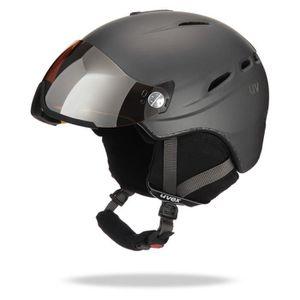 UVEX Casque de Ski + Visiere HLMT 200 Mixte