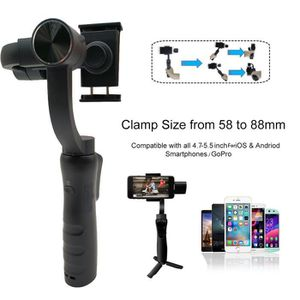 STABILISATEUR 3-Axis Smartphone Gimbal Stabilizer360 ° Rotation