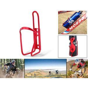 GOURDE Aluminium vélos Water Bottle Cage (Rouge)