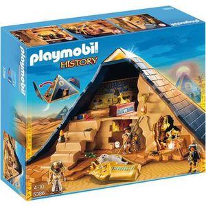 UNIVERS MINIATURE PLAYMOBIL 5386 - History - Pyramide du Pharaon