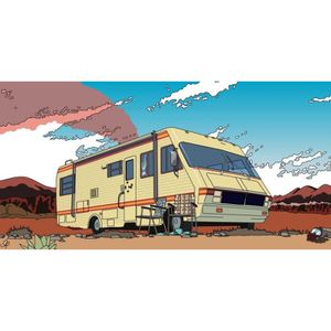 AFFICHE - POSTER Drame Hot Breaking Bad Art Print Cool Affiche 056