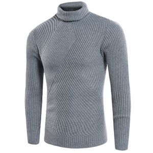 b1a9524abbd28 PULL Pull en maille homme mode col roulé manches longue