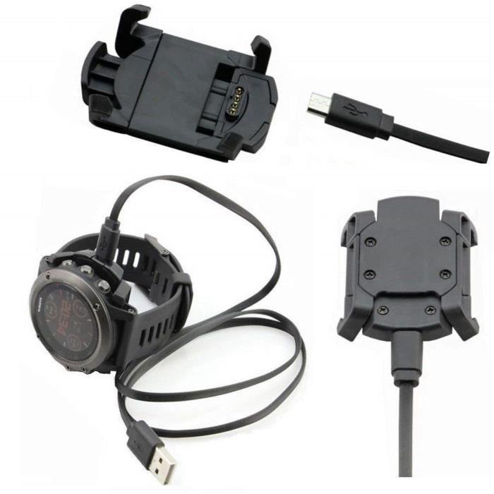Montre De Garmin Fenix Chargeur Pour 3 Usb Bureau Adaptateur Intelligente Nnm80w