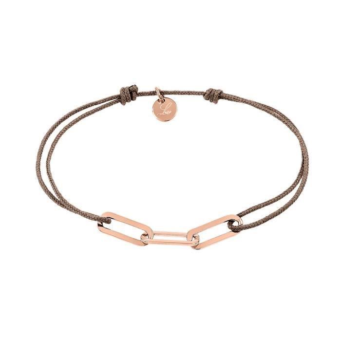 Bracelet LAVARE Argent 925/1000 - Taille : 16 cm- Z0147421 - Rose