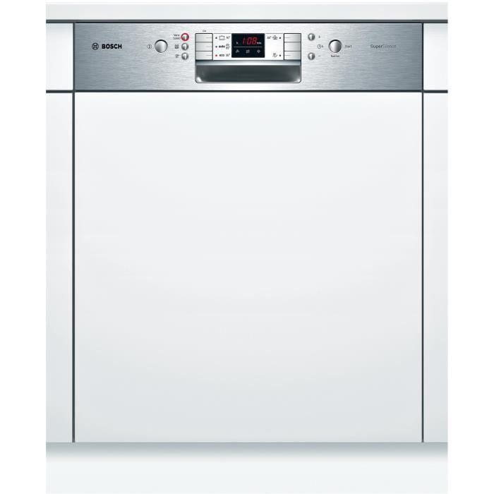 Bosch lave vaisselle encastrable smi54m05eu achat vente lave vaisselle cdiscount - Montage porte lave vaisselle encastrable bosch ...