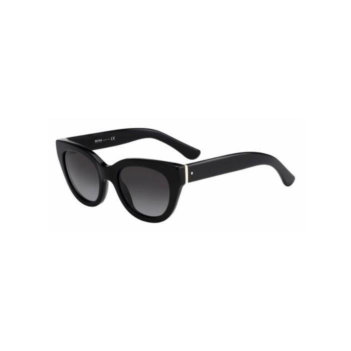 4d5d987b926e99 Lunette de soleil BOSS 0715 S 807 (HD) Noir - Achat   Vente lunettes ...