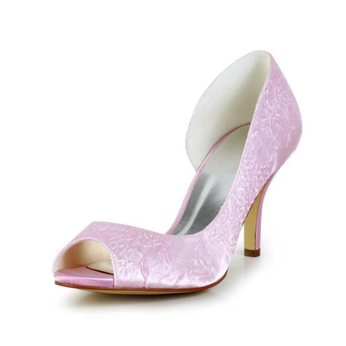 pour de femme Wedding 83901B chaussures mariage mariée Escarpins Jia Jia wpHP8qnvP