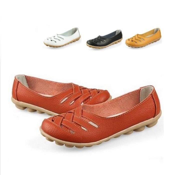 MOCASSIN SHELOVEIT® Casual Chaussures Femmes Perméable à l'