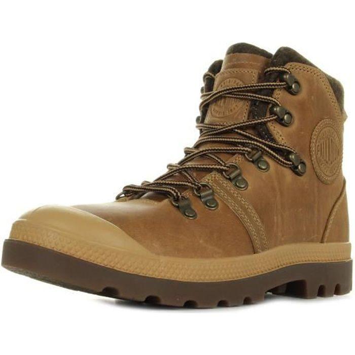 Boots Palladium Pallabrouse Hiker Amber Gold