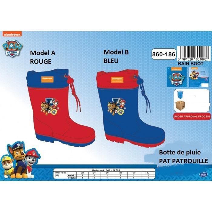 grande sélection prix raisonnable femme Bottes de Pluie PAT PATROUILLE Paw Patrol * NEUF l'unité / Model aléatoire  * EUR 22 au 32 / UK 5,5 au 13 *