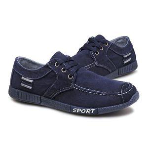 Chaussures En Toile Hommes Basses Quatre Saisons Populaire BYLG-XZ112Bleu40 ekjEQ4FjC