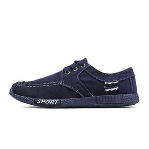 Chaussures En Toile Hommes Basses Quatre Saisons Populaire XFP-XZ132Gris42 49xXfKGIh