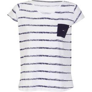 UP2GLIDE T-shirt Chloe femme - Blanc rayé
