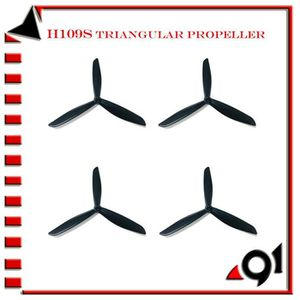 DRONE 4PCS Lames Triangulaire hélice pour le Hubsan H109