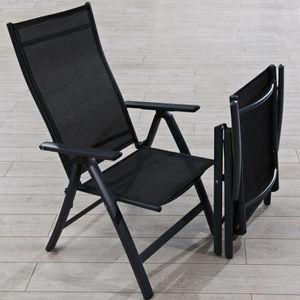 Chaise de jardin multiposition Achat Vente pas cher