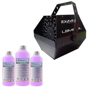 MACHINE À BULLES Machine à bulles Noir grand débit IBIZA LIGHT LBM-
