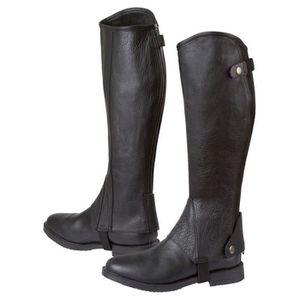 22b1e70616ad38 BOTTE Kerbl Bottes d'équitation Elasto Taille XL Noir 32
