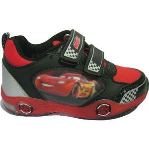 BASKET Baskets noires Cars pour garçons