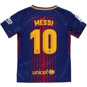 MAILLOT DE FOOTBALL Nouveau Maillot Nike Enfant FC Barcelone Home Floc