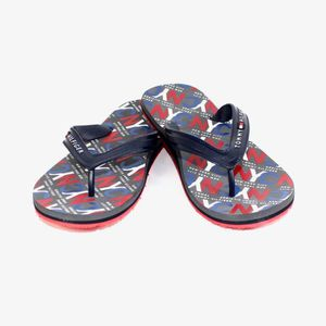 TONG CLAQUETTES / TONGS NAVY CITY PRINT 01361  - TOMMY