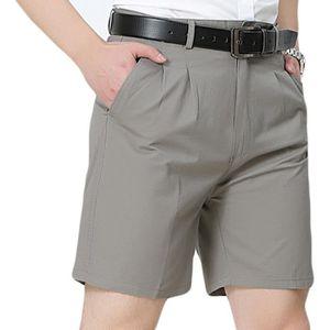 SHORT Shorts en Coton Homme de Cargo Loose Fit Casual Pa