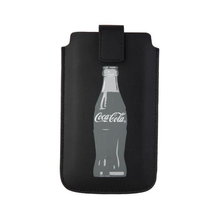 Coca-Cola Etui universel M - Bouteille - Gris