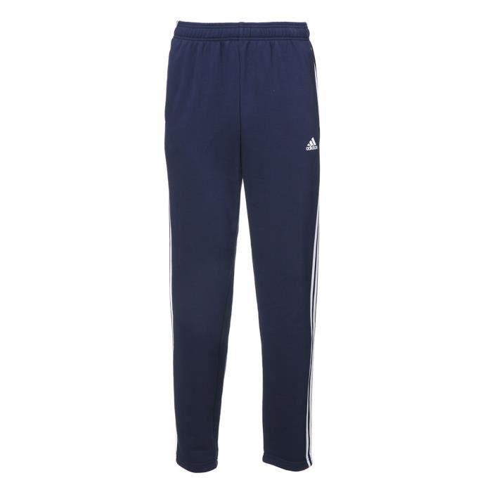 ADIDAS Pantalon Ess 3S T Ft - Homme - Bleu marine