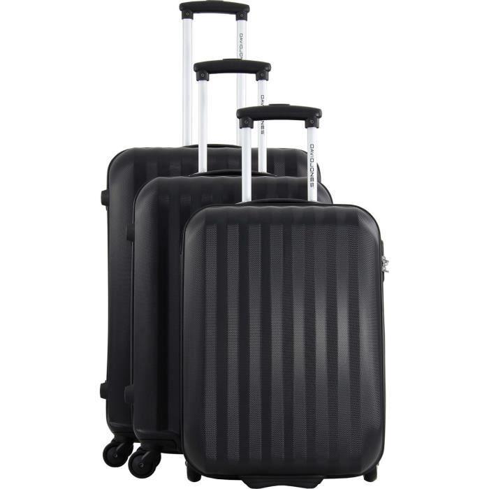 valises 3 pcs cabine ryanair david jones achat vente set de valises 1112220017863 cdiscount. Black Bedroom Furniture Sets. Home Design Ideas