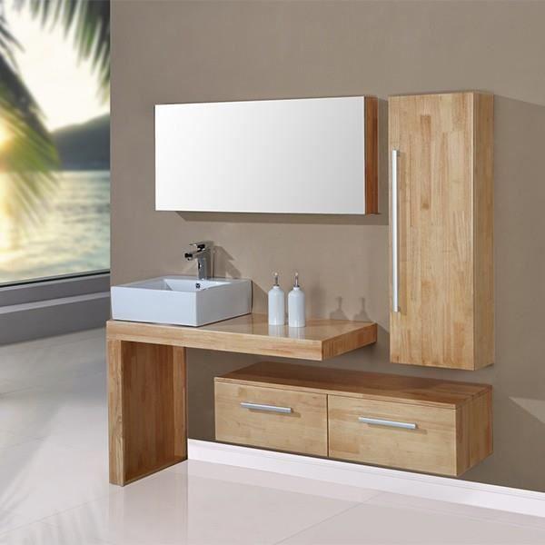 salle de bain complete sd9250bn meuble salle de bain coloris bois naturel