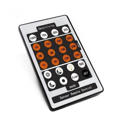 Projecteur Extra Détecteur Télécommande Pour De Avec Plat Led vfygY6b7