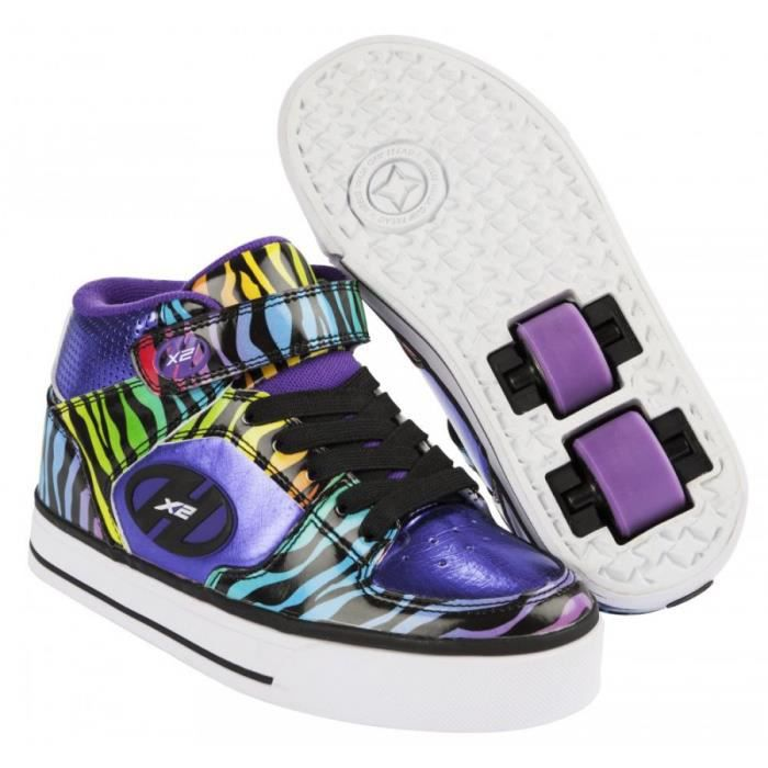 Chaussures Heelys HX2 violettes fille