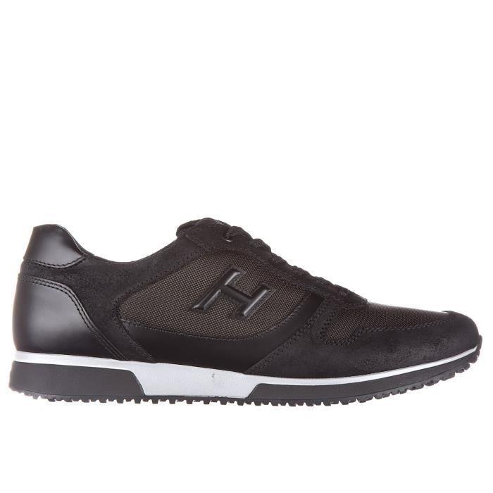 Chaussures baskets sneakers homme en cuir h198 Hogan