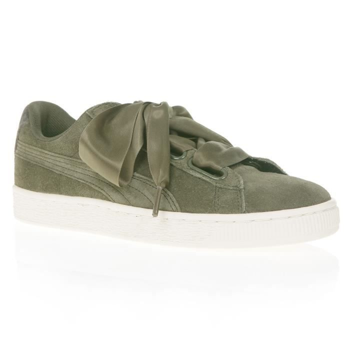 Baskets Suede Vr Puma Femme Heart Chaussures 8pwWRqn5x