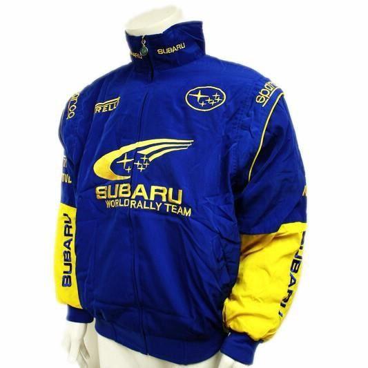 Coton Veste Homme Vêtements Subaru Moto Bleu Manteau Pilote F1 5fwwxYqrz