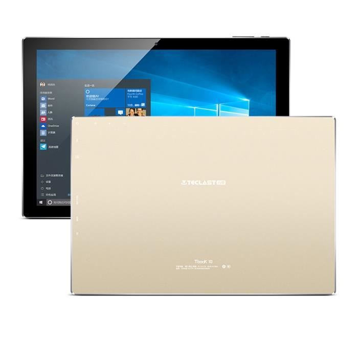 TECLAST Tbook 10 Tablette tactile PC Windows 10 Android 5.1 double ...