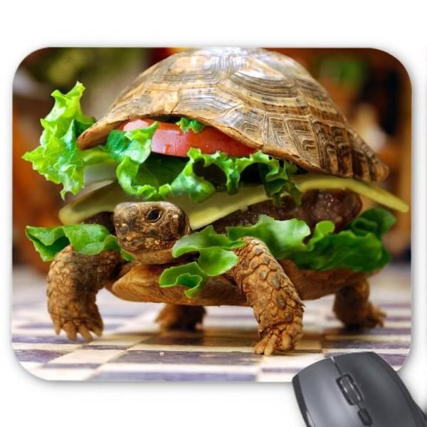 tapis de souris tortue humour ref 2905 prix pas cher cdiscount