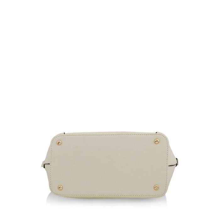 Sac à main crème des femmes (MBG 0407 cm) K3WND