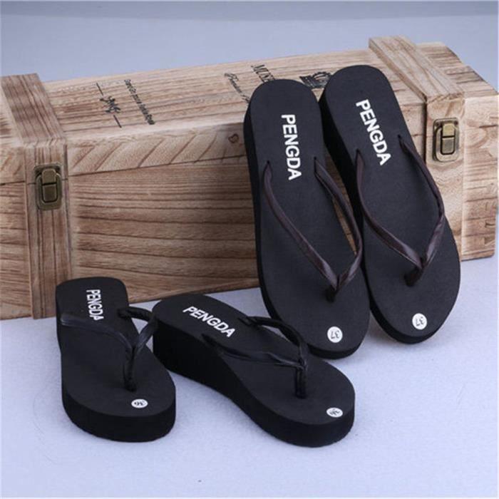 décontractées Poids tongs sandale dssx118noir39 sandales sandals sandales thong marque Léger chaussures panto platform homme zqgAc5166F