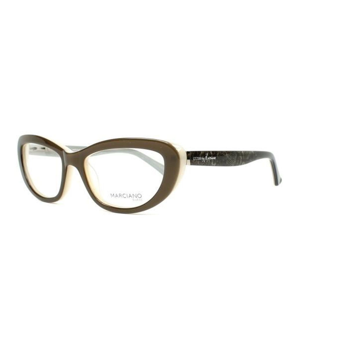 Lunettes de vue Guess by Marciano GM221 -GRY Marron olive - Gris ... fb708fe4cedb