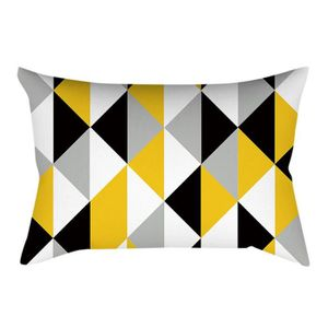 COUSSIN Ananas Feuille jaune Taie Coussin Canapé Throw tai