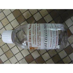 ALCOOL À BRÛLER Diluant cellulosique 250ml LES FRERES NORDIN
