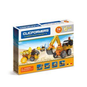 ASSEMBLAGE CONSTRUCTION Clicformers Set Constructeurs 74 pièces