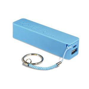 CHARGEUR TÉLÉPHONE Batterie Externe de Secours pour téléphone - Bleu