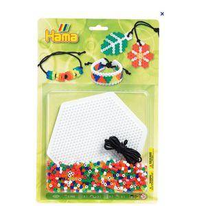 JEU DE PERLE Á REPASSER Kit bracelets 900 perles Hama 4086 midi
