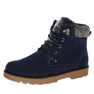 Martin Boots Enfants Hiver Garçons Fille Classique Chaussures BTYS-XZ101Marron34-s z5ocwT6