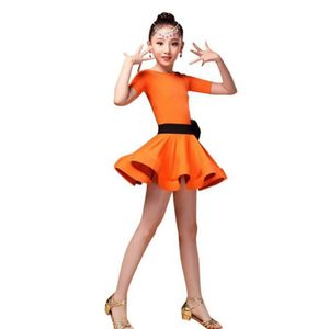 e524ff725eded JUPETTE DE DANSE Robe Danse Latine Salsa Fille Robe Danse Moderne E