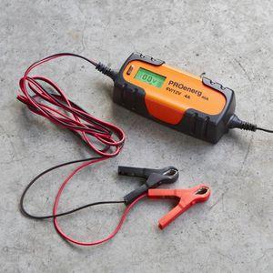 CHARGEUR DE BATTERIE Chargeur de batterie 6-12V 4A max