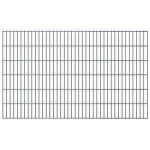 CLÔTURE - GRILLAGE vidaXL Panneaux de clôture 2D pour jardin 2008x123